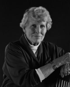 Portrait of Nel Oudemans, Strathbutler Award 1995
