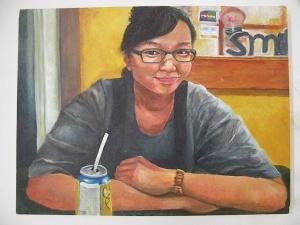 Self-Portrait; Serim Ye