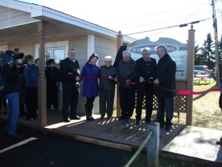 Denis Lanteigne attends official ribbon cutting ceremony