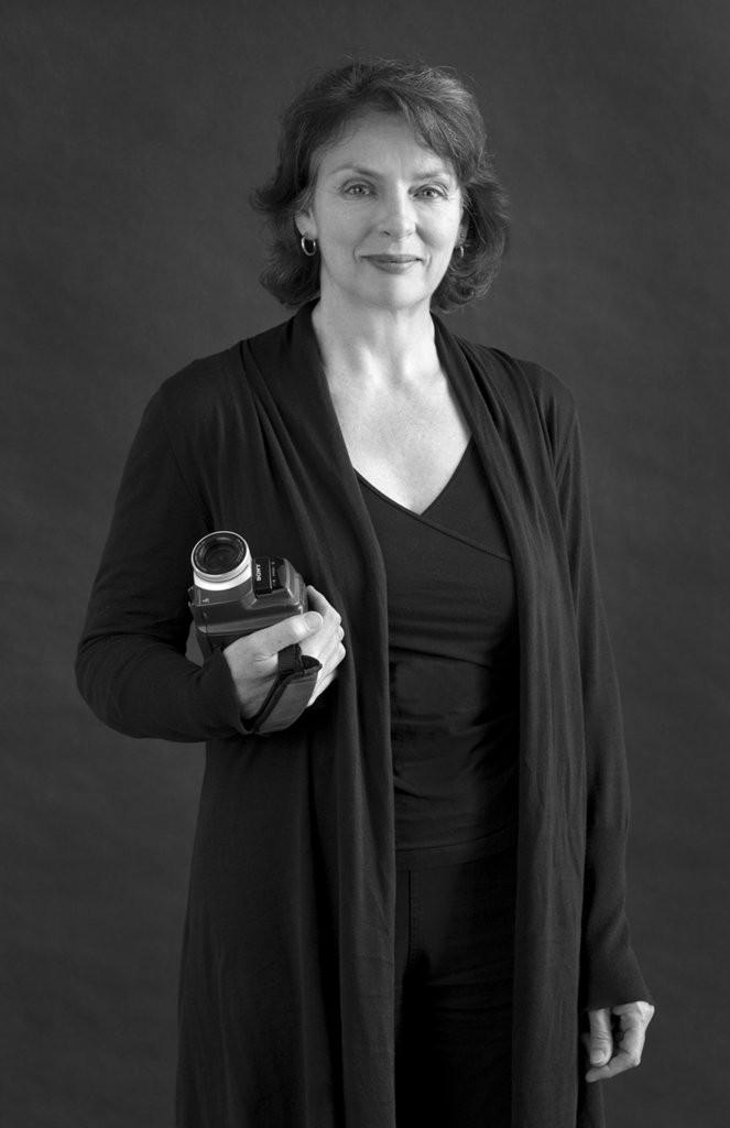Portrait of Linda Rae Dornan, Strathbutler 2010 (photo - James Wilson)