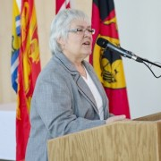 Louise Imbeault, Chair Sheila Hugh Mackay Foundation