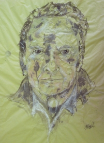 Portrait Fred Ross by Maggie Higgins 2010