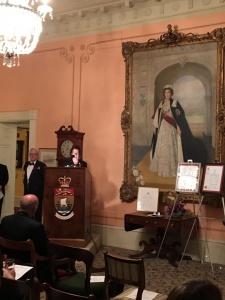 Lieutenant Governor Roy-Vienneau praises contribution of Suzanne Hill