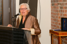 Louise Imbeault, Chair of SHMF, speaking on behalf of the Sheila Hugh Mackay Foundation