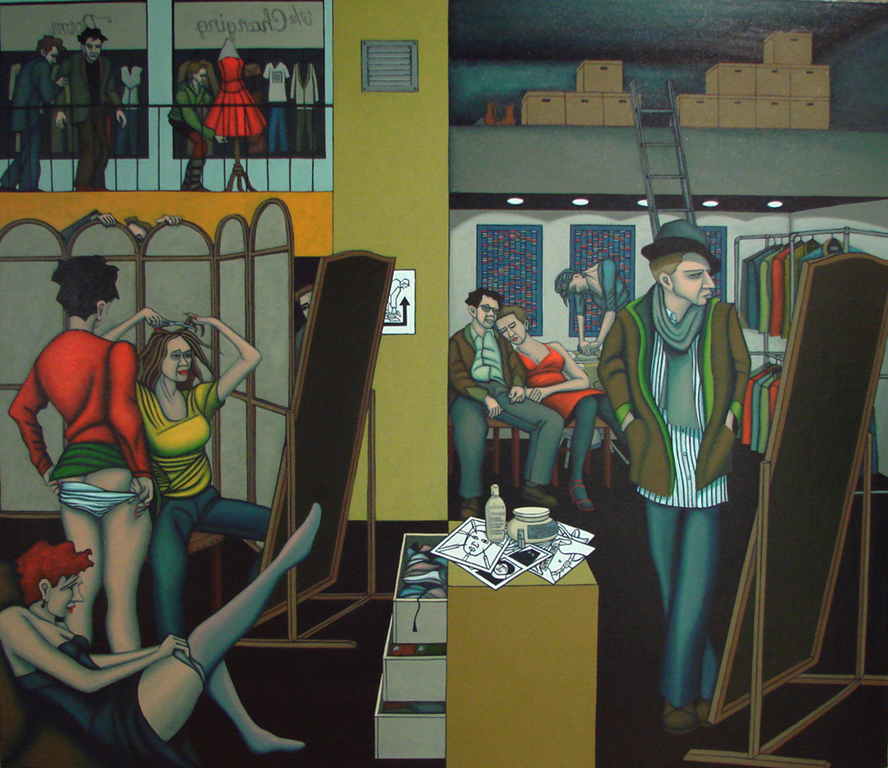 The Changing Room; Paul Mathieson, 2007