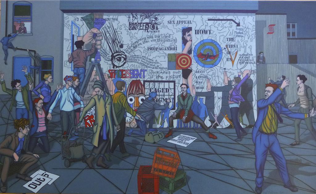 The Wall; Paul Mathieson, 2013