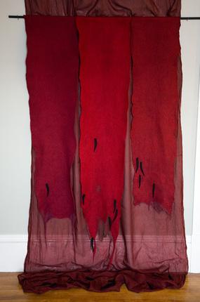 Escarlata (letting blood); Janice Wright Cheney