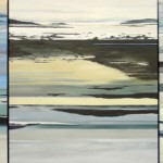 Ice Break Triptych (painting) by Susan Hill