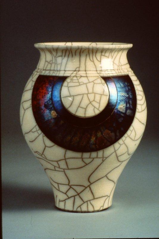 Vase, 1992; Peter Powning